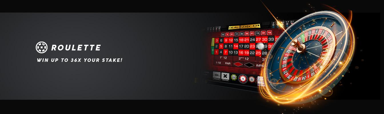 Gewinne beim Roulette bis zu 36 x deinen Einsatz