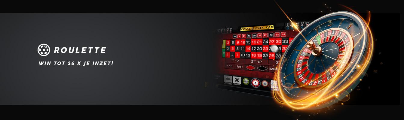 Win 36x je inzet met roulette